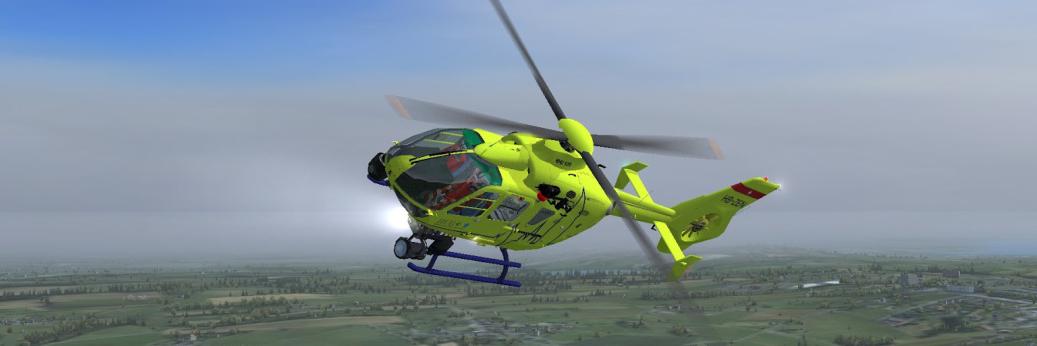 H&S Design's Eurocopter EC135(Freeware/FSX)