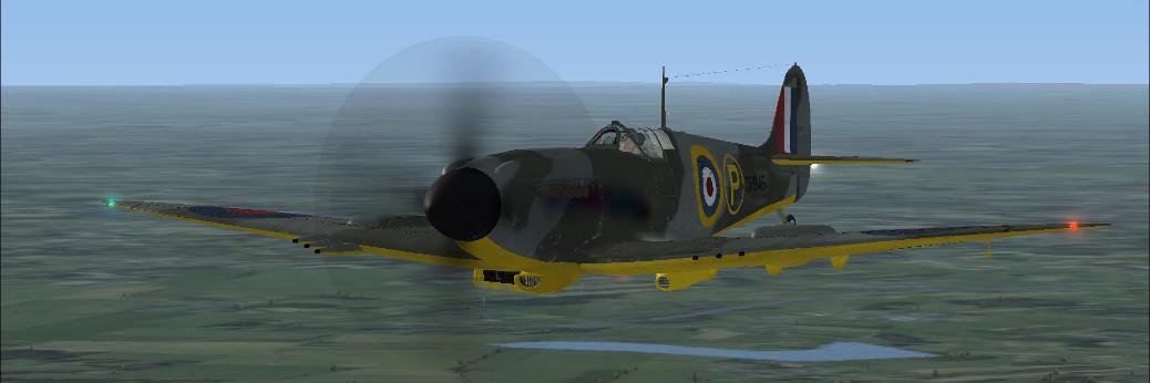 Aeroplane Heaven's Spitfire Mk IV(Payware/FSX)