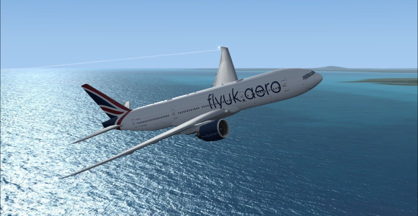 Getting to cruise altitude and resuming navigational course to EGLL