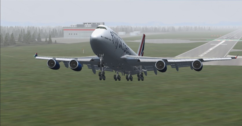 Takeoff from RJAA heading back to EGLL