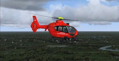 "The new 'Airborne Response Service"" EC-135"