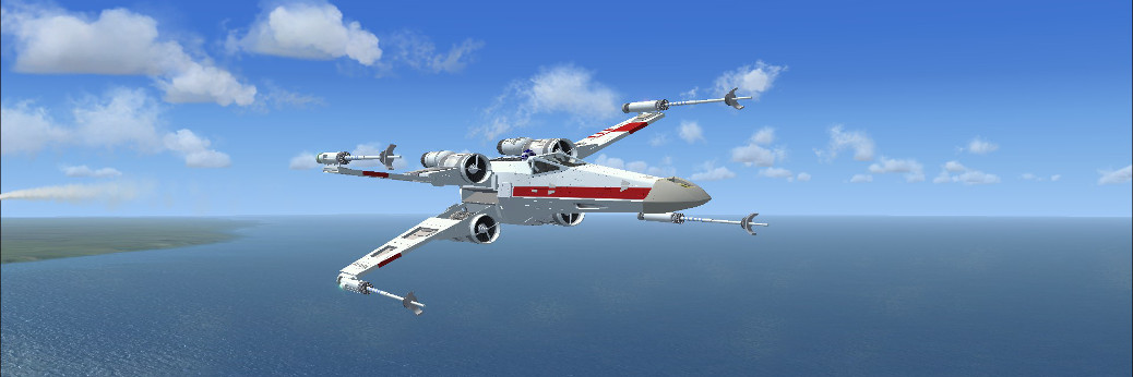Star Wars Incom T-65 X-Wing (Freeware/FSX)