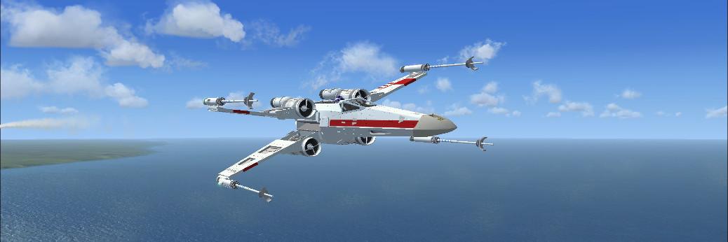 Star Wars Incom T-65 X-Wing(Freeware/FSX)